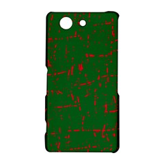 Green and red pattern Sony Xperia Z3 Compact