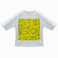 Yellow summer pattern Infant/Toddler T-Shirts