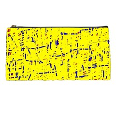 Yellow summer pattern Pencil Cases