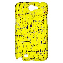 Yellow summer pattern Samsung Galaxy Note 2 Hardshell Case
