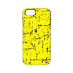 Yellow summer pattern Apple iPhone 5 Classic Hardshell Case (PC+Silicone)