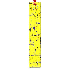Yellow summer pattern Large Book Marks