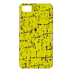Yellow summer pattern BlackBerry Z10