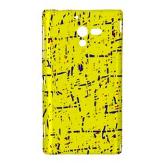 Yellow summer pattern Sony Xperia ZL (L35H)