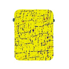 Yellow summer pattern Apple iPad 2/3/4 Protective Soft Cases