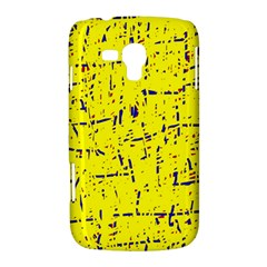 Yellow summer pattern Samsung Galaxy Duos I8262 Hardshell Case
