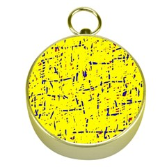 Yellow summer pattern Gold Compasses