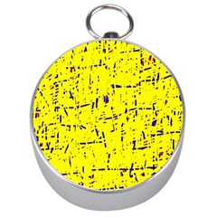 Yellow summer pattern Silver Compasses