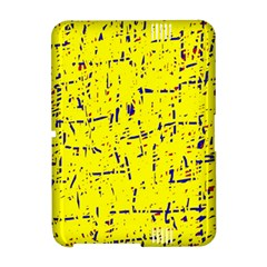 Yellow summer pattern Amazon Kindle Fire (2012) Hardshell Case