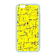 Yellow summer pattern Apple Seamless iPhone 6/6S Case (Color)