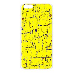 Yellow summer pattern Apple Seamless iPhone 6 Plus/6S Plus Case (Transparent)
