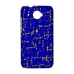 Blue pattern HTC Desire 601 Hardshell Case