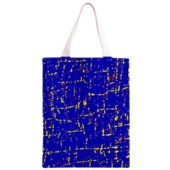Blue pattern Classic Light Tote Bag