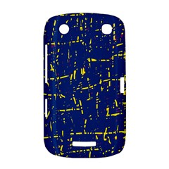 Deep blue and yellow pattern BlackBerry Curve 9380