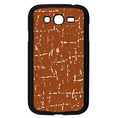 Brown elelgant pattern Samsung Galaxy Grand DUOS I9082 Case (Black)