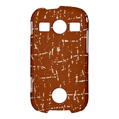 Brown elelgant pattern Samsung Galaxy S7710 Xcover 2 Hardshell Case