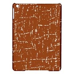 Brown elelgant pattern iPad Air Hardshell Cases