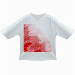 Red pattern Infant/Toddler T-Shirts