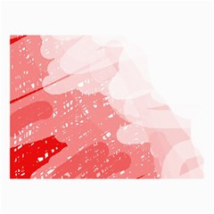 Red pattern Collage Prints