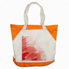 Red pattern Accent Tote Bag