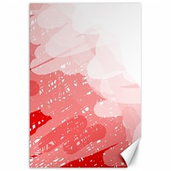 Red pattern Canvas 20  x 30