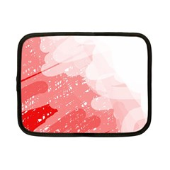 Red pattern Netbook Case (Small)