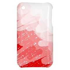 Red pattern Apple iPhone 3G/3GS Hardshell Case