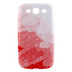 Red pattern Samsung Galaxy S III Hardshell Case