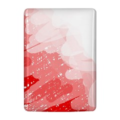Red pattern Kindle 4