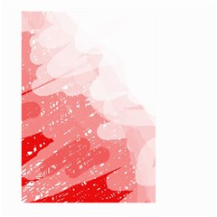 Red pattern Large Garden Flag (Two Sides)
