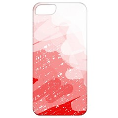 Red pattern Apple iPhone 5 Classic Hardshell Case