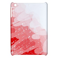 Red pattern Apple iPad Mini Hardshell Case