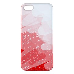 Red pattern Apple iPhone 5 Premium Hardshell Case