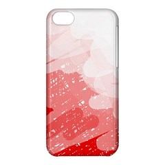 Red pattern Apple iPhone 5C Hardshell Case