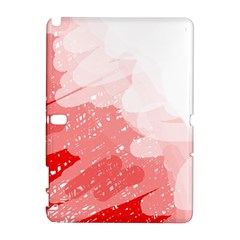 Red pattern Samsung Galaxy Note 10.1 (P600) Hardshell Case