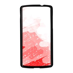 Red pattern Nexus 5 Case (Black)