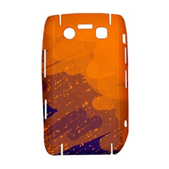 Orange and blue artistic pattern Bold 9700