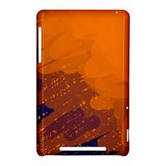 Orange and blue artistic pattern Nexus 7 (2012)