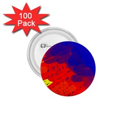 Colorful pattern 1.75  Buttons (100 pack)