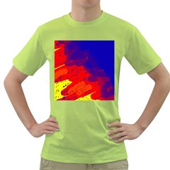 Colorful pattern Green T-Shirt