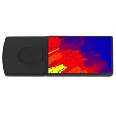 Colorful pattern USB Flash Drive Rectangular (1 GB)