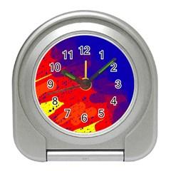 Colorful pattern Travel Alarm Clocks