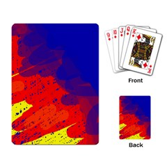 Colorful pattern Playing Card