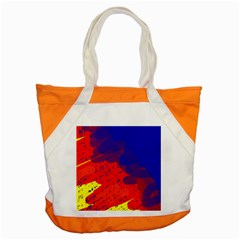 Colorful pattern Accent Tote Bag