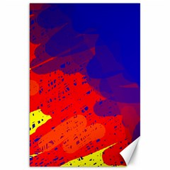 Colorful pattern Canvas 20  x 30