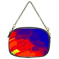 Colorful pattern Chain Purses (One Side)