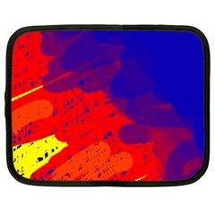 Colorful pattern Netbook Case (XXL)