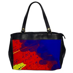 Colorful pattern Office Handbags