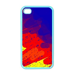 Colorful pattern Apple iPhone 4 Case (Color)