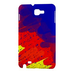 Colorful pattern Samsung Galaxy Note 1 Hardshell Case